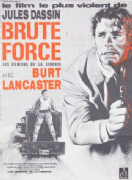 Vintage Movie poster - Brute Force 1947